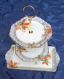 Vintage 3-tier cake stand (3) £5