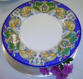 Large decorative plate £2